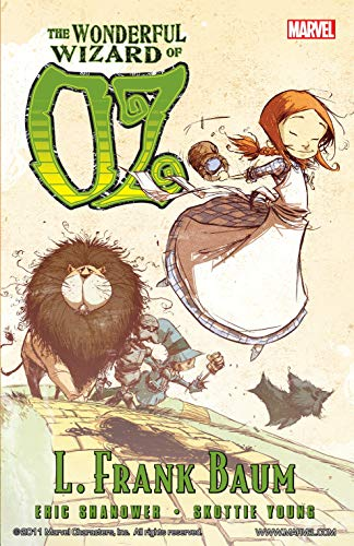 wonderful wizard of oz skottie young eric shanower